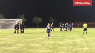 2019Aug02 - Eva D'Andrea scores via free kick