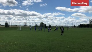 2019Sep14 - Santi Castro scores vs North York Academy EK U14/15 (2-2)