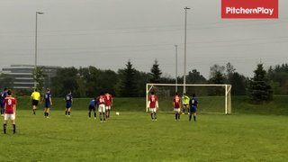 2019Sep15 - Rowan Fisler scores a PK vs RED Academy U14/15 (1-0)