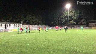 Jamie Gibson's Free Kick Goal