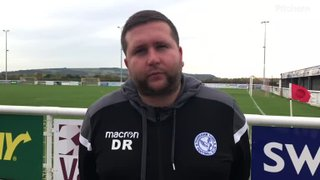 Evesham United Away win: Post Match Interview with Danny Robinson