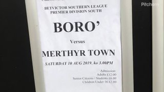 Harrow Borough v Merthyr Town 10/8/19