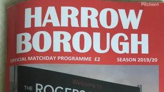 Harrow Borough v Binfield 7/9/19 FA Cup 1st QR
