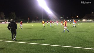U18s Passing Warm Up against Bedfont Sports