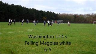 U14 Blues v Felling Magpies White