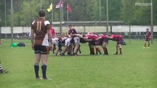 Marvin off the back of a scrum