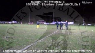 Ashton Town Vs Widnes FC (07.03.17)