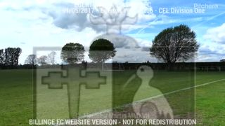Egerton FC Vs Billinge FC (01.05.17)