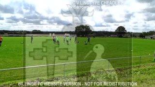 Billinge FC Vs Lintotype Cheadle HN (12.08.17)