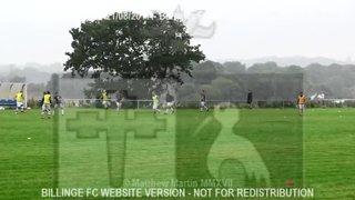 Billinge FC Vs Ashton Athletic (21.08.17) Wigan Cup