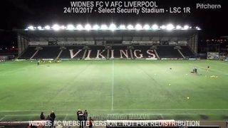Widnes FC Vs AFC Liverpool (23.10.17) LSC 1R