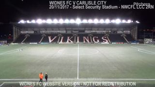 Widnes FC Vs Carlisle City (20.11.17) NWCFL LCC 2RN