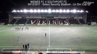 Widnes FC Vs Southport FC (04.12.17)