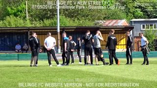 Billinge FC Vs New Street FC (07.05.18) Guardian Cup Final