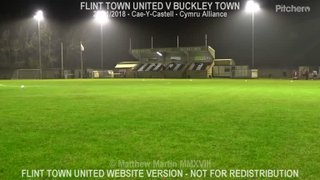 Flint Town United Vs Buckley Town (23.11.18)