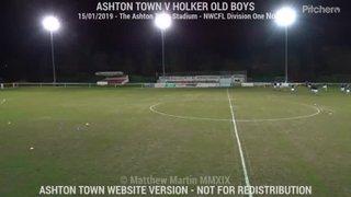 Ashton Town Vs Holker Old Boys (15.01.19)