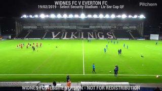 Widnes FC Vs Everton FC (19.02.19) Liverpool Senior Cup QF