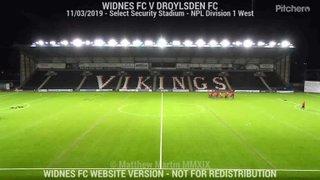 Widnes FC Vs Droylsden FC (11.03.19)