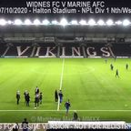 Widnes FC Vs Marine AFC (07.10.20)