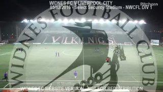Widnes FC Vs Liverpool City (05.12.16)