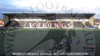 Widnes FC Vs AFC Blackpool (28.01.17)