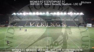 Widnes FC Vs Southport FC (30.01.17)