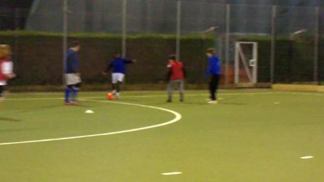 Training with the under 18's
