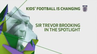 Sir Trevor Brooking in the spotlight