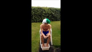 Liam's ice bucket challenge