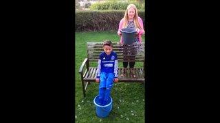 Adam Henderson's ice bucket challenge