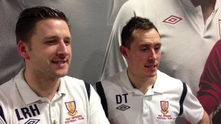 Hodge & DT Post Match SGP