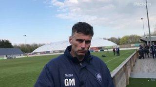 Gav on loss at Swindon
