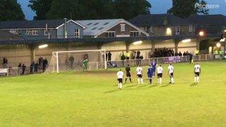 Mazza scores his penalty