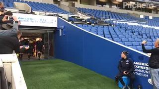 U18's Walk Out at The Amex