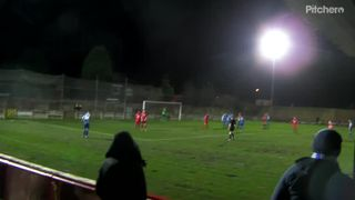 First goal at Droylsden