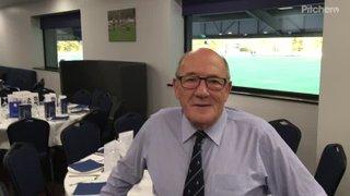 Club president John Coles