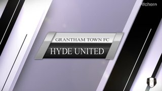 Grantham Town FC vs Hyde United  12/10/19