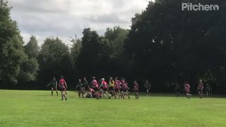 Great possession and go forward by U16s