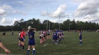 1st XV Try (Jack Field) v Harpenden