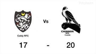 Chinnor vs Caldy
