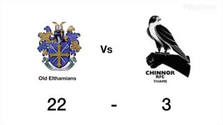 Chinnor vs Oe