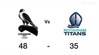 Chinnor vs Rotherham Highlights