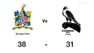 Chinnor vs Rosslyn Park