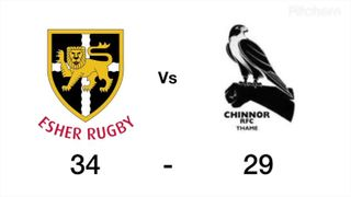 Chinnor vs Esher Highlights