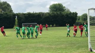 Woodfine Freekick against Holmer Green - Jul 19