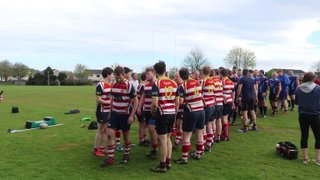 Vs Moray RFC 2nd XV- end of the match