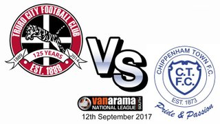 Truro City v Chippenham Town (H) - Tuesday 12th September 2017