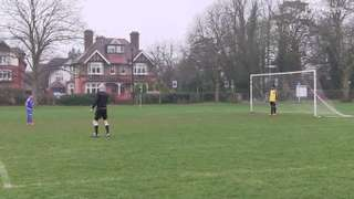 Luca Goal vs Woking Tigers