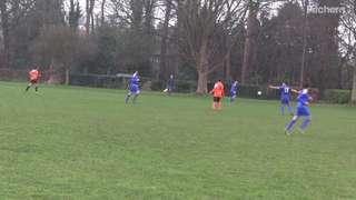 Grouty Goal vs Woking Tigers