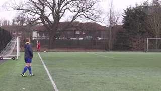 Miles goal vs Bisley AS